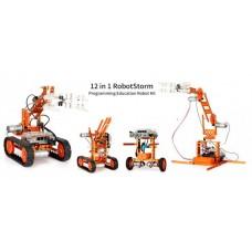 12 in 1 WeeeBot RobotStorm STEAM Robot Kit