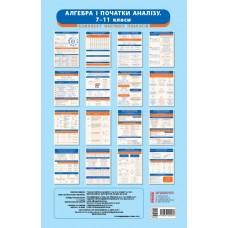 Алгебра і початки аналізу. 7-11 класи. Комплект навчальних плакатів