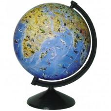 Глобус Фізичний з тваринами 260 мм