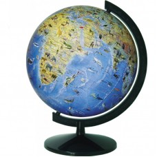 Глобус Загальногеографічний з тваринами 320 мм