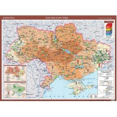 Карта. Україна. Господарство.