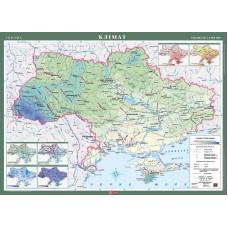 Карта. Україна. Клімат