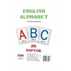 Картки великі Англійська абетка А5