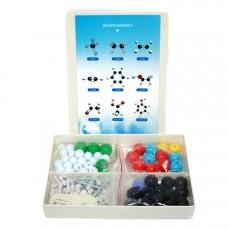 Комплект моделей атомів для складання молекул