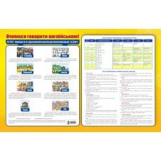 Вчимося говорити англійською! Комплект плакатів для початкової школи
